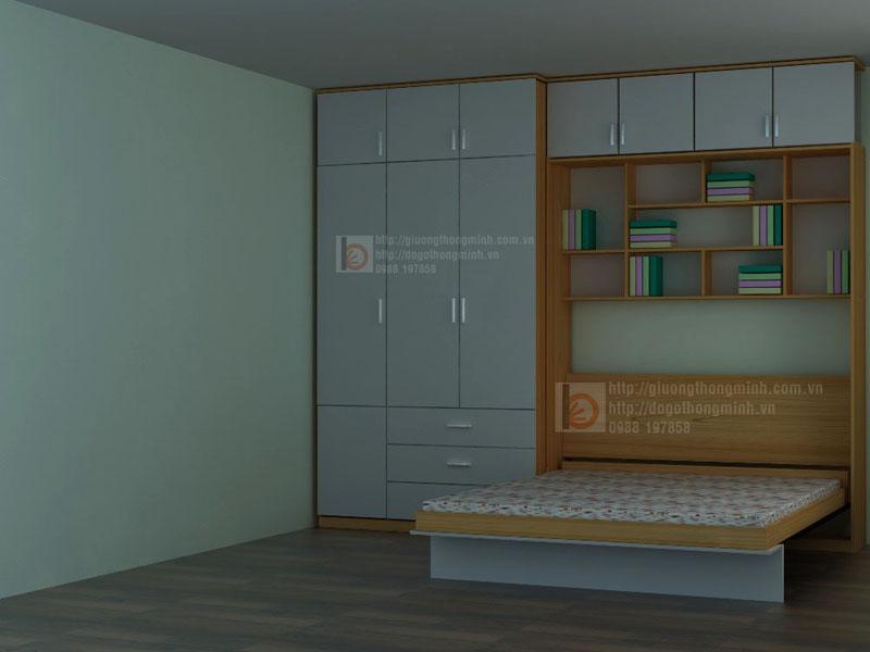 giường tủ thông minh cho phòng ngủ nhỏ