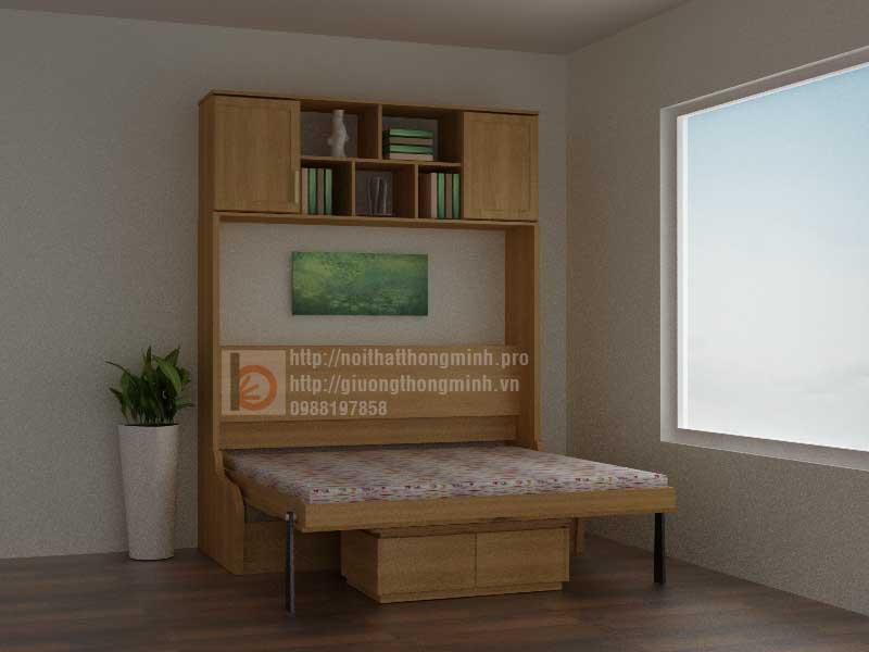 ghế giường thông minh bằng gỗ Sồi Nga