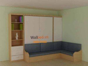 ghế giường gỗ thông minh