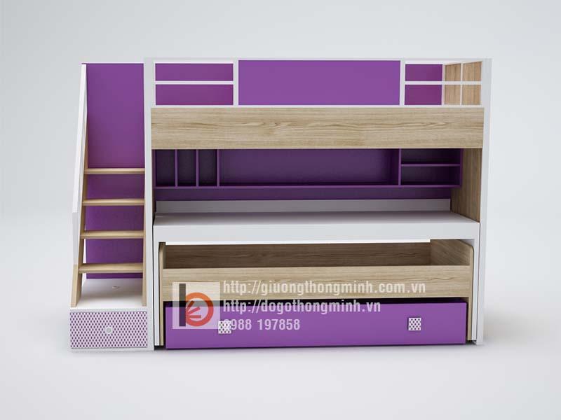 giường 2 tầng thông minh cho bé