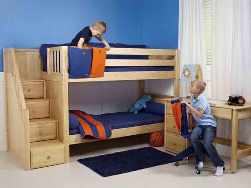 giường tầng thông minh cho trẻ