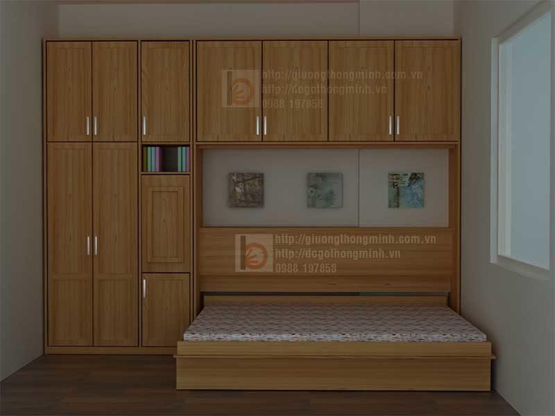 giường tủ thông minh zip