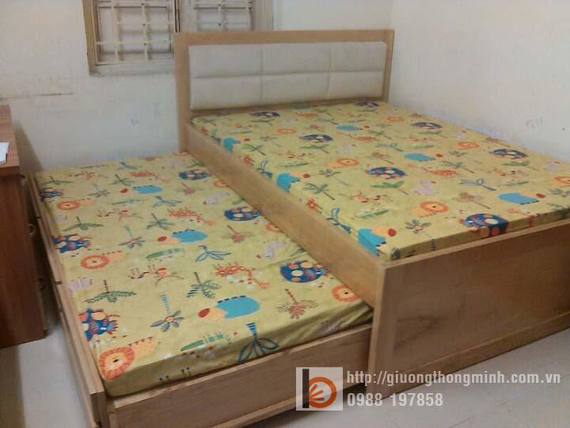 giường kéo 2 tầng