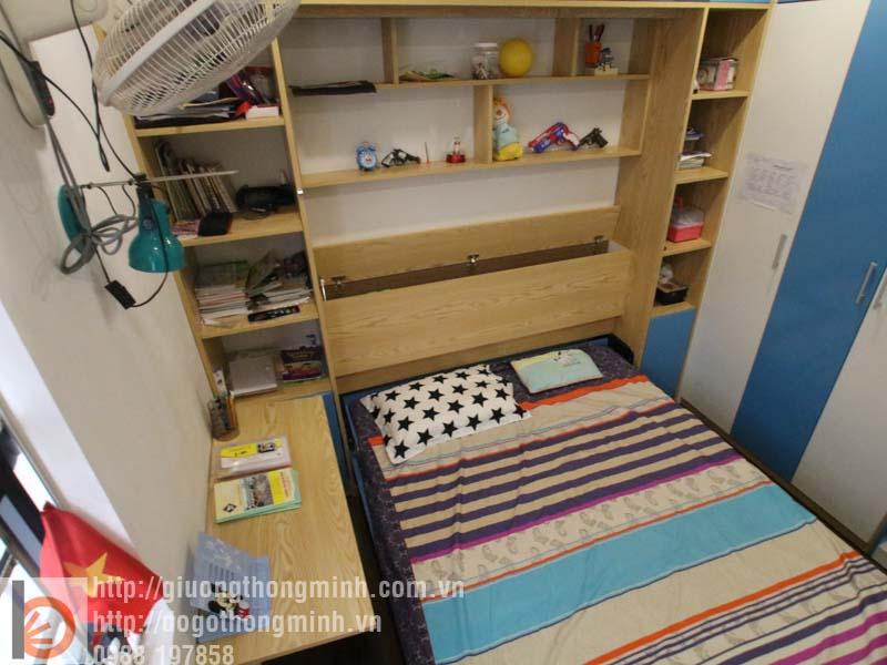 mẫu giường tủ thông minh cho bé