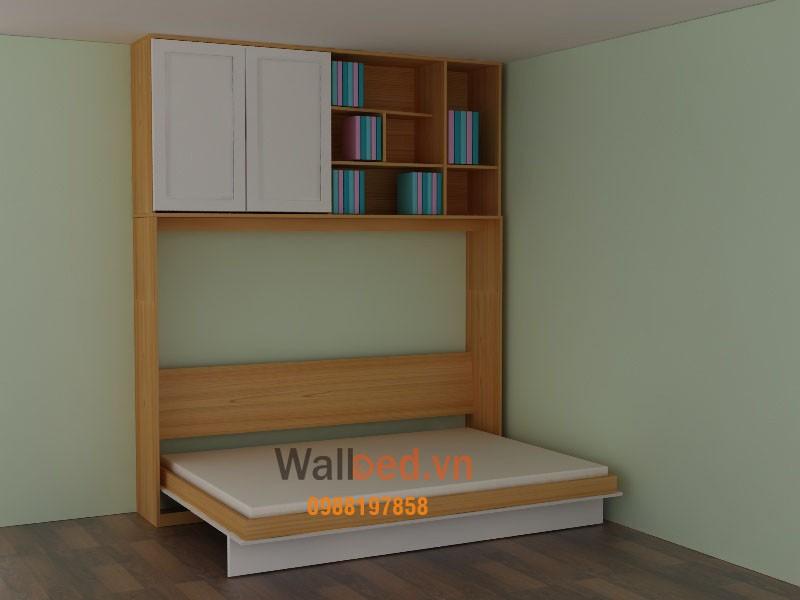 giường thông minh cho bé kết hợp bàn học