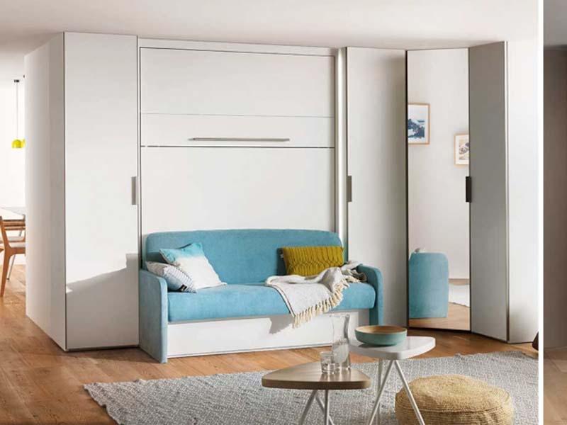 mẫu giường ghế thông minh