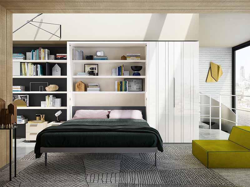 giường gấp thông minh bằng gỗ