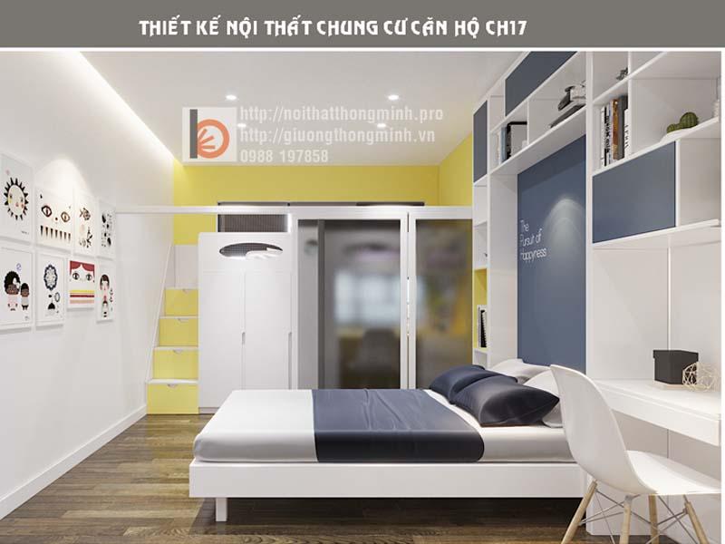 giường thông minh cho bé hiện đại