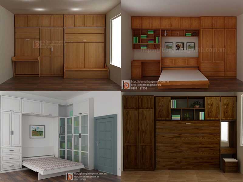 tủ giường gỗ thông minh đa năng