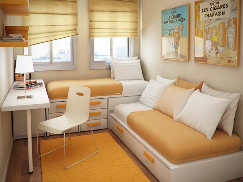 nội thất cho phòng ngủ nhỏ