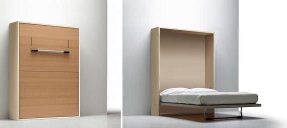 giường gỗ thông minh