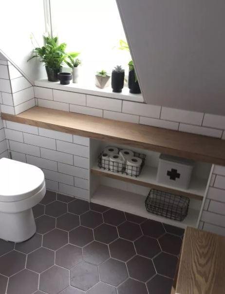kệ đồ cho phòng tắm nhỏ