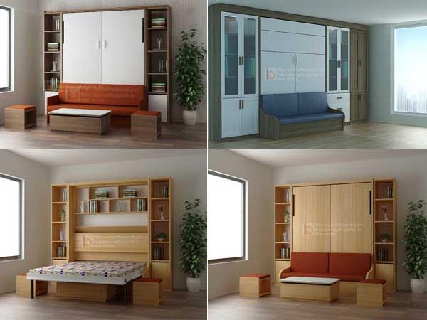 giường thông minh và sofa
