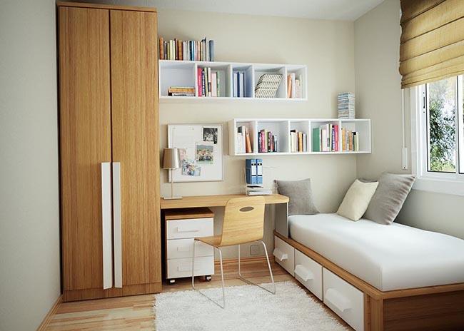 phòng ngủ nhỏ