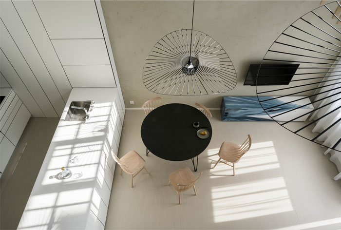 thiết kế không gian phòng khách