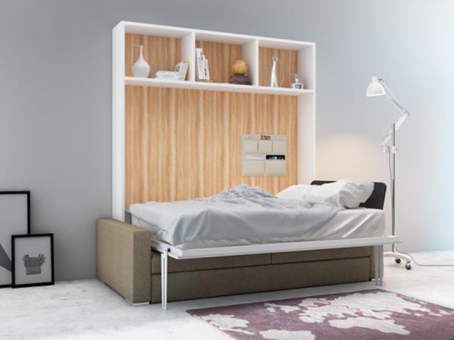 giường gấp thông minh cho phòng khách