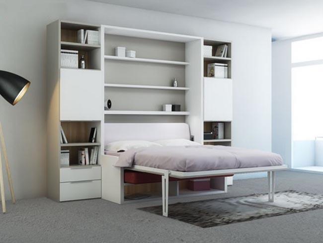 giường ngủ kết hợp ghế sofa