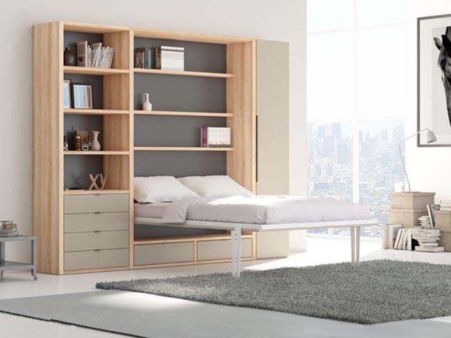 giường gấp dọc