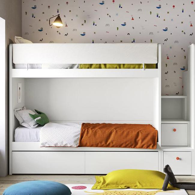 giường tầng kết hợp ngăn kéo