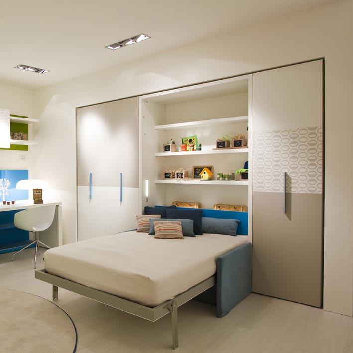 giường thông minh tích hợp sofa