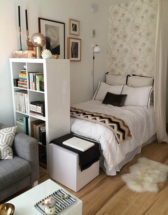 Nội thất thông minh phòng ngủ nhỏ