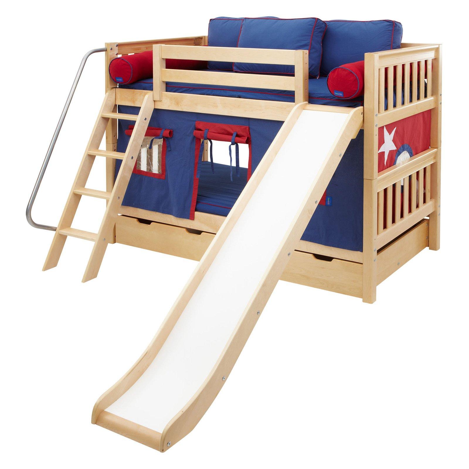 giường tầng kết hợp cầu trượt