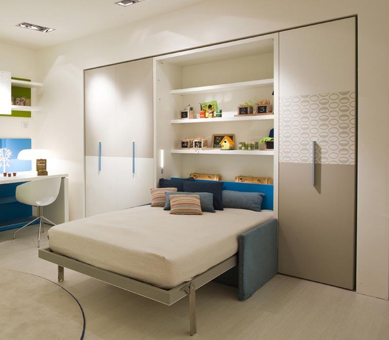 giường gấp dọc thông minh