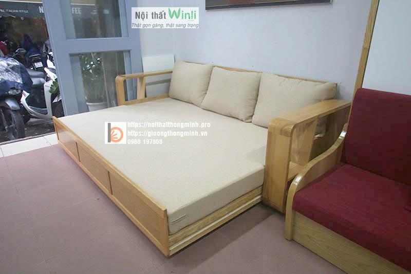 Sofa giường thông minh đôi
